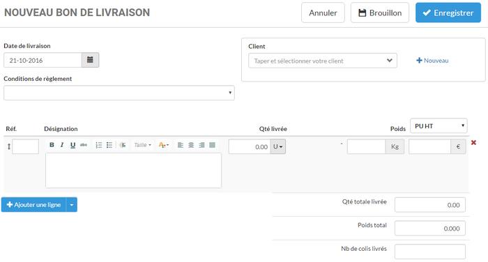 Mod le de bon de livraison inscription gratuite logiciel evoliz - Mode de livraison suivi ...