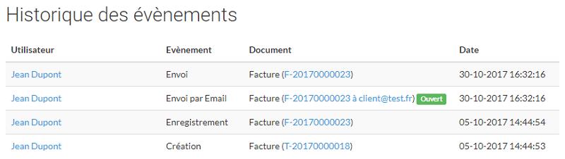 Amélioration de l'envoi et du tracking des mails